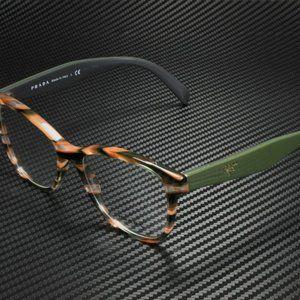 Prada Women's Grey Brown and Green Eyeglasses!